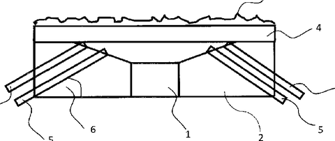 Skizze Kompakter Biofilmsensor mit geringer Leistungsaufnahme