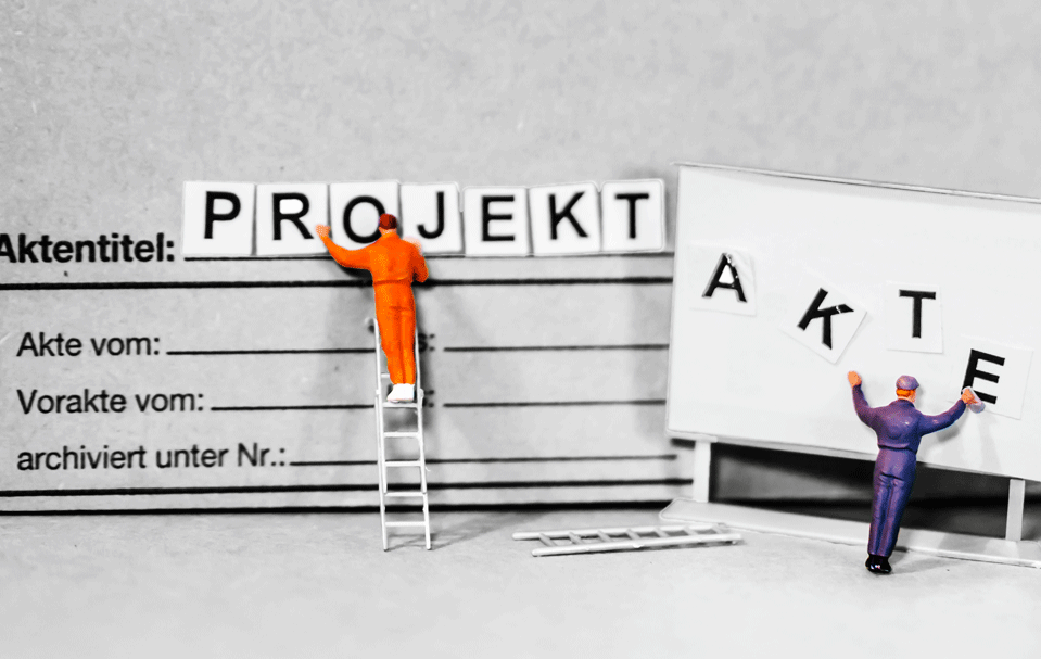 Zum Bereich Projektbeginn